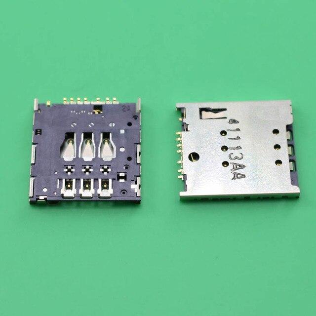 10pcs Sim Cards adaptadores originais e slot tomada titular Card Reader novo SIM para for Motorola MOTO G XT1032 XT1033 XT1035
