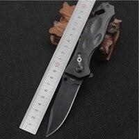 Новое Пришествие Кемпинг Тактический Нож Из дверей Ножи выживания Складной Охотничий Нож Нержавеющая сталь Blade Алюминиевая Ручка сплава