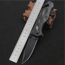 New Coming Camping Tactical Knife Out door survival Knives Folding Hunting Knife Stainless steel Blade Aluminium alloy Handle