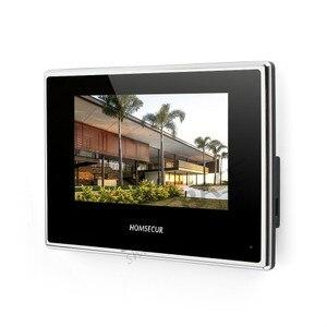 Image 4 - HOMSECUR فيديو باب الدخول الأمن الداخلي مع تسجيل ولقطة لمدة 2 شقة + امدادات الطاقة + وحدة تحكم الوصول