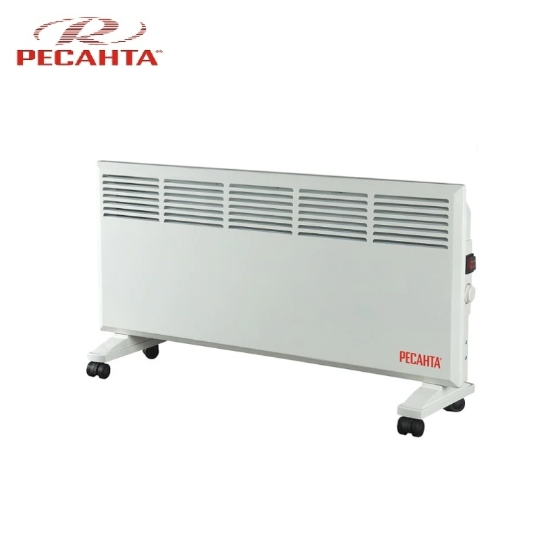 Convector RESANTA OK-2500 Heating device Electroconvector Forced convection heater Wall-hung convector Mechanical converter convector resanta ok 1000