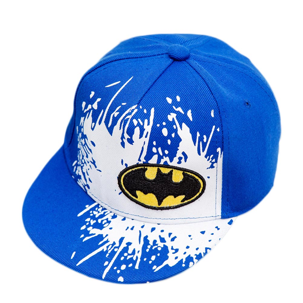 2017 new Snapback Caps Gorras Unisex Kids Hip-hop Snapback Batman Cap Children Adjustable Flat Hats 4 colors 2016 new kids minions baseball cap fashion adjustable children snapback caps gorras boys girls gorras planas hip hop hat 2202