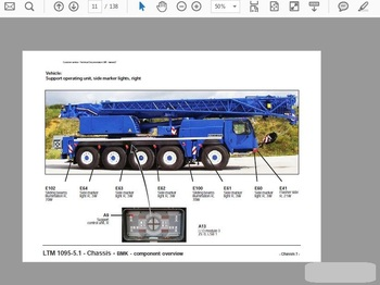 Liebherr Crane Shop Manual and Wiring Digram and Operating Instructions