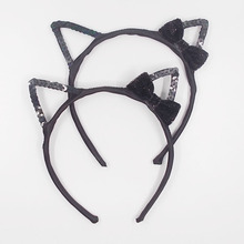 Bow of the head bow ear childrens headband party accessories hair ornaments