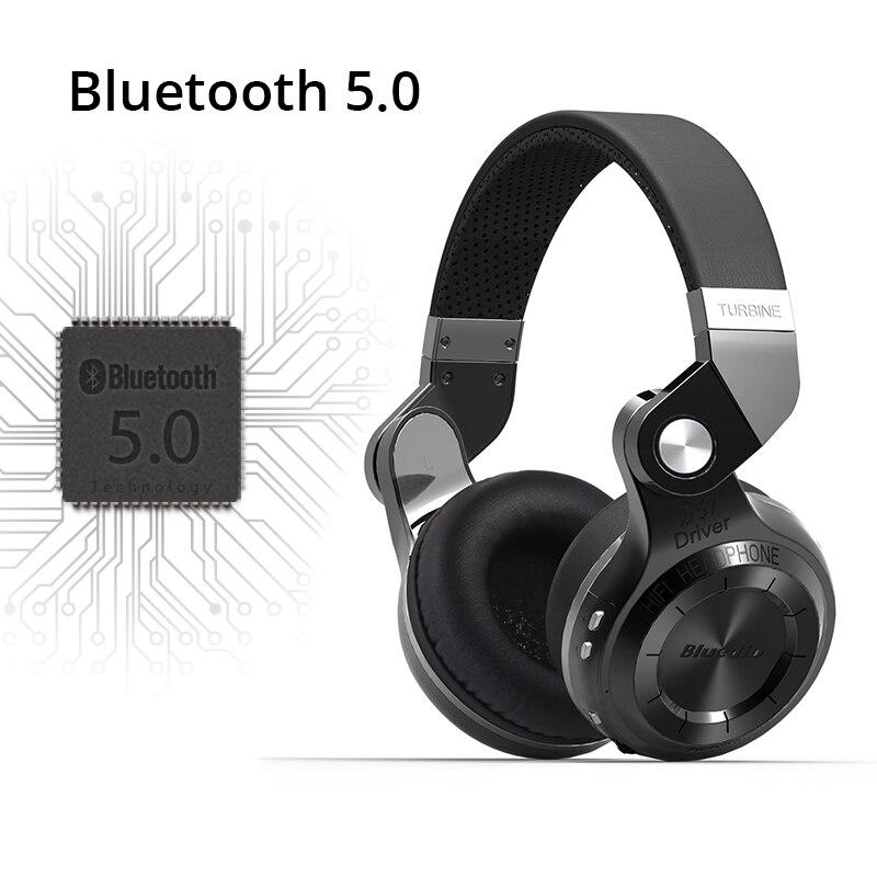 Original Bluedio T2S auriculares bluetooth con micrófono auricular inalámbrico bluetooth para Iphone Samsung Xiaomi auriculares