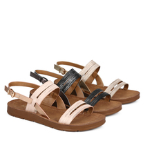 Женские босоножки; Сабо; женская обувь; женские летние RC672_AG020007-01-1 из искусственной кожи; женские Вьетнамки; сандалии