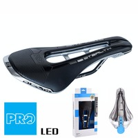 Pro Stealth LTD Saddle Stainless steel rail road mountain bike hollow Saddles 142/152mm