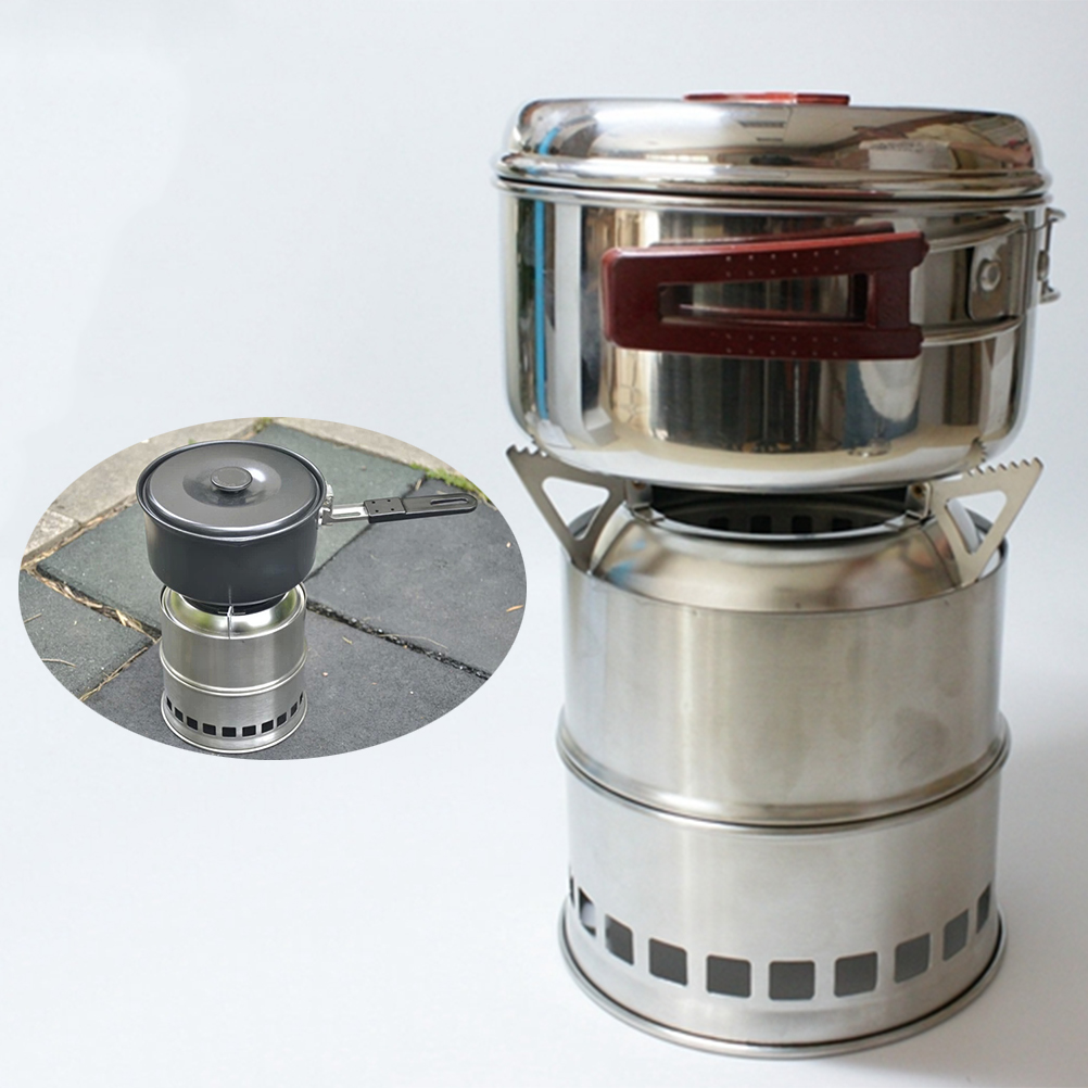 Aliexpress.com : Buy New Useful Outdoor Cooking Camping Stainless Steel  Wood Stove Pocket Alcohol Stove from Reliable stove outdoor suppliers on  Fantastic ... - Aliexpress.com : Buy New Useful Outdoor Cooking Camping Stainless