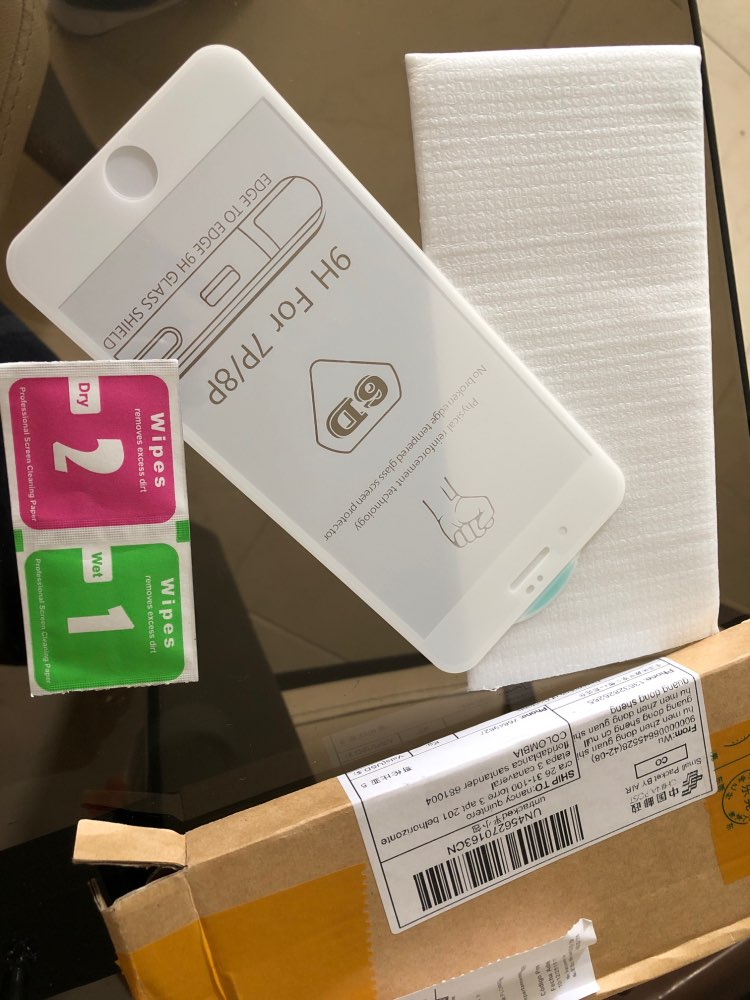 Vidrio Templado 6D Protección Completa para iPhone photo review