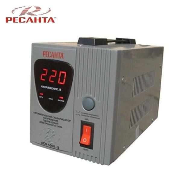 Однофазный стабилизатор напряжения Ресанта ASN-500/1-C