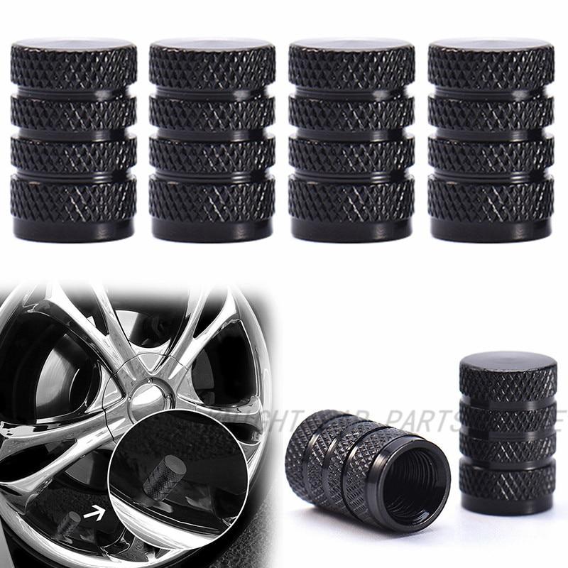 Modern Design Top Quality Black Camaro RS Tire Stem Valve Caps