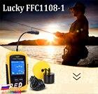 Lucky FFC1108-1 Portable Fishfinder Sonar Depth 100 M Alarm Waterproof Fishfinder TN/Anti-UV LCD color Display RUEN User Manual
