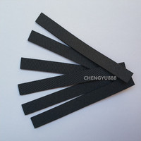 6pcs Wheel Tire Leather Fetal Skin For Replacement IRobot Braava 320 380 375T 380T Mint