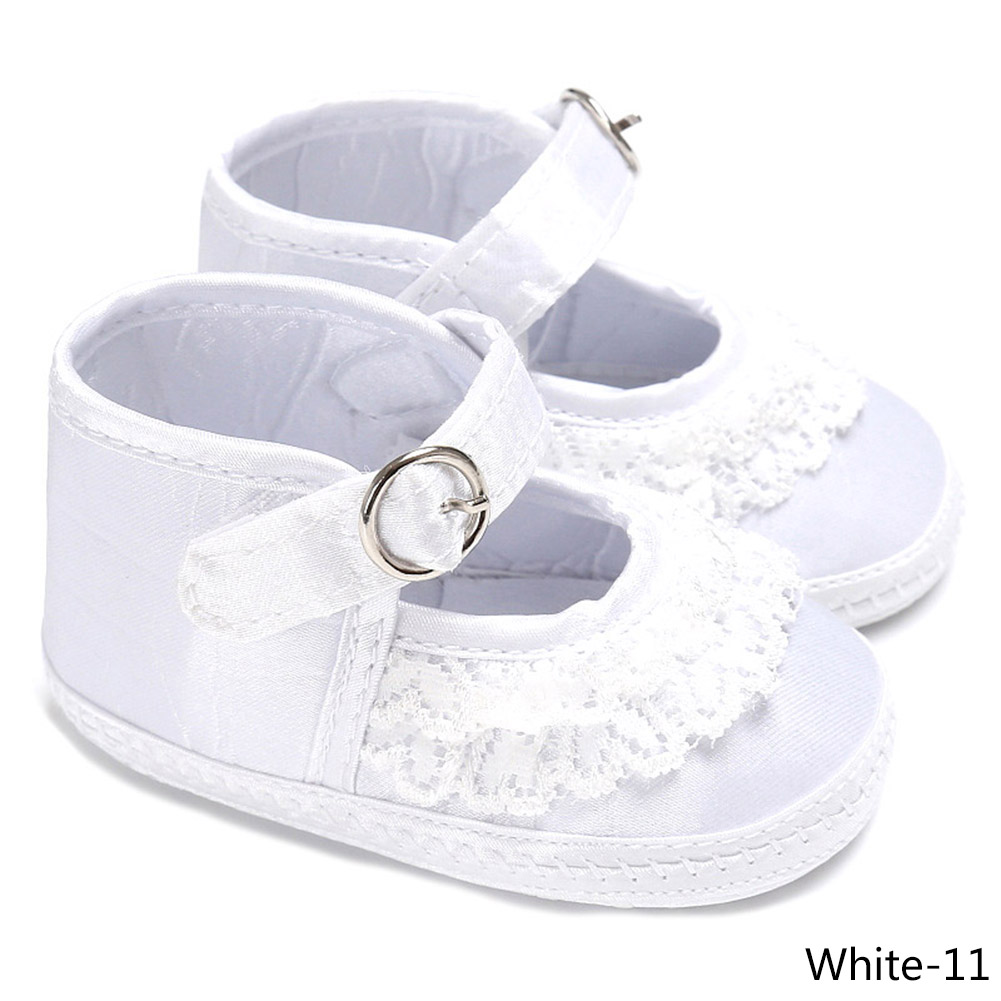 3 Colors School Baby Lace Shoes Soft Soled Newborn Boys Girls Shoes First Walkers