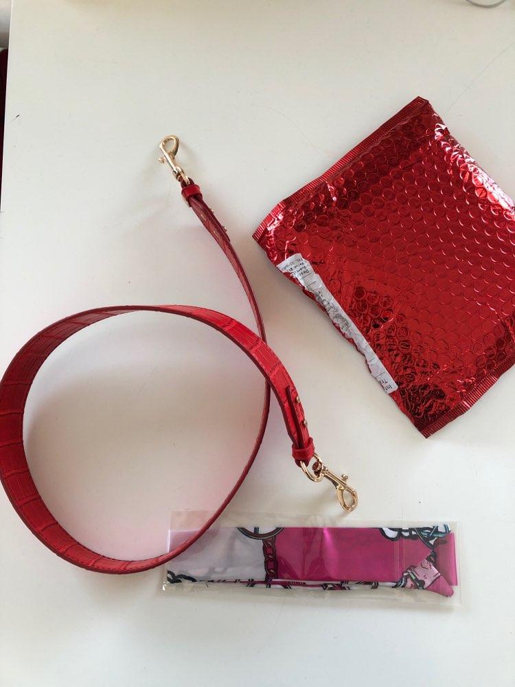 2019 nieuw krokodil patroon plus lange schouder tas met slang patroon handtas brede schouder riem tas accessoires photo review