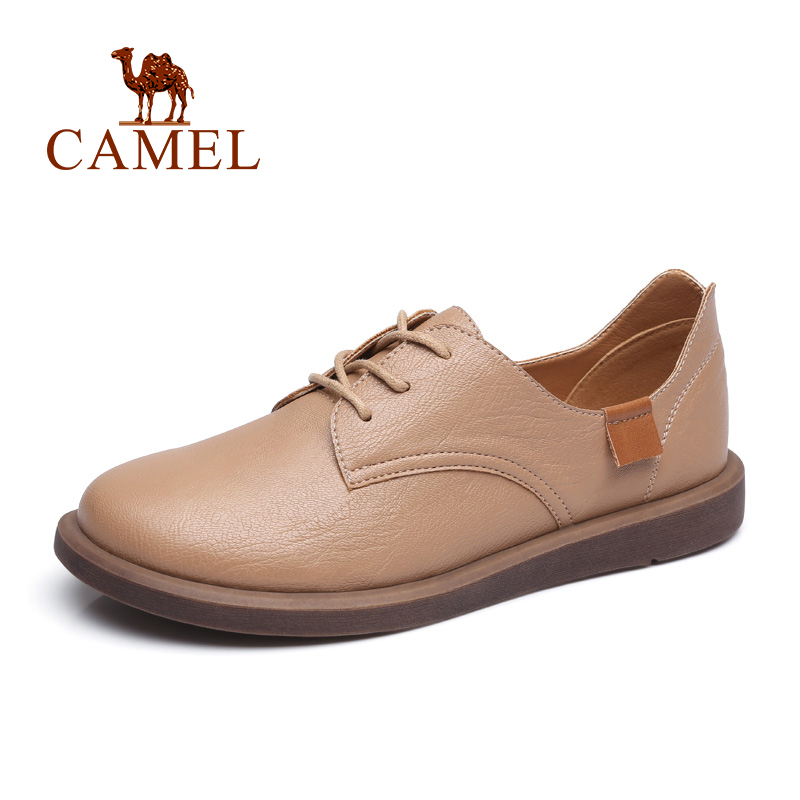 CAMEL New Sneakers Women Fashion Retro Casual Ins Tennins Shoes Women Med Platform Thick Heel Shoes