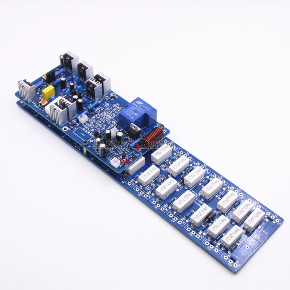 Power Amplifier Board 2sa1494 2sc3858 Dual Channel Amp 300w For Ampcircuits 450w With Sanken Assembly 1500w Mono Hifi High New