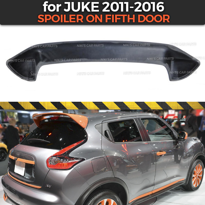 Standard Tailgate Spoiler Roof Tail Rear Trunk Lip Windshield Wing Car Modification Accessories Premium ABS Car Trunk Rear Spoiler for Nissan Juke 2011-2015 2012 2013 2014