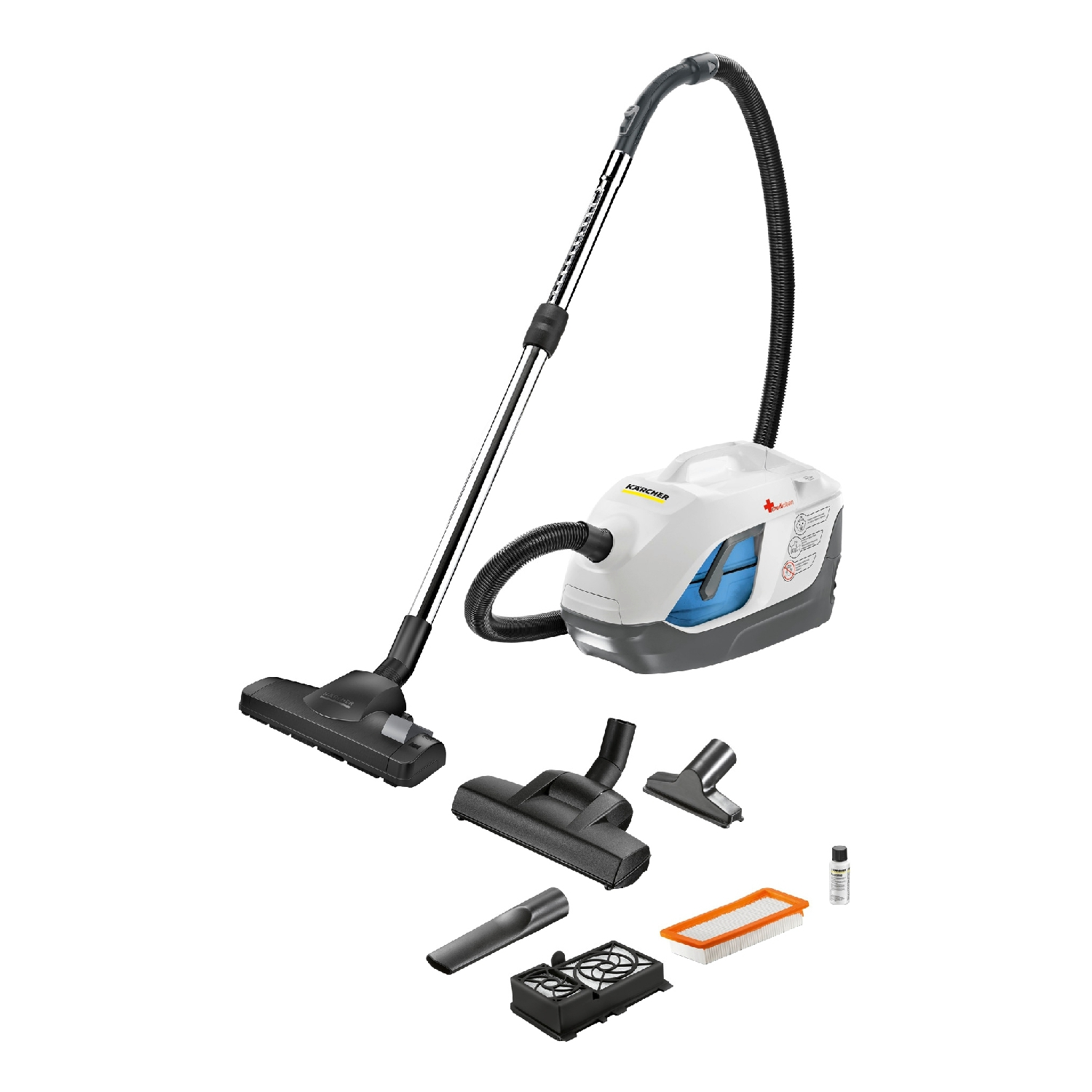 Vacuum cleaner for dry and wet cleaning Karcher DS 6 Premium Mediclean