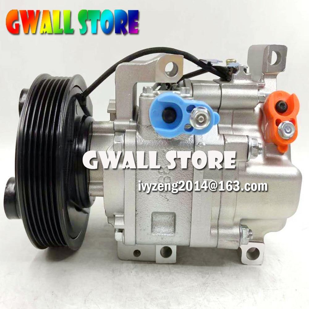 Auto AC Compressor For Mazda 6 HATCHBACK STATION WAQON 1.8 2.0 2.3 Air Conditioner GJ6A61K00B H12A1AF4DW H12A1AJEL GJ6A61K00C
