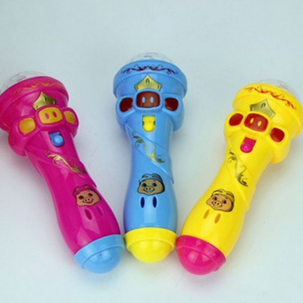 1PCS Flash Of Light Microphone All Over The Sky Star Rod Luminous Toy Random Color