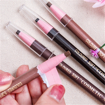 2005 drawing pen pencil waterproof anti sweat delicate and lasting no halo makeup synophrys with eyebrow pencil image