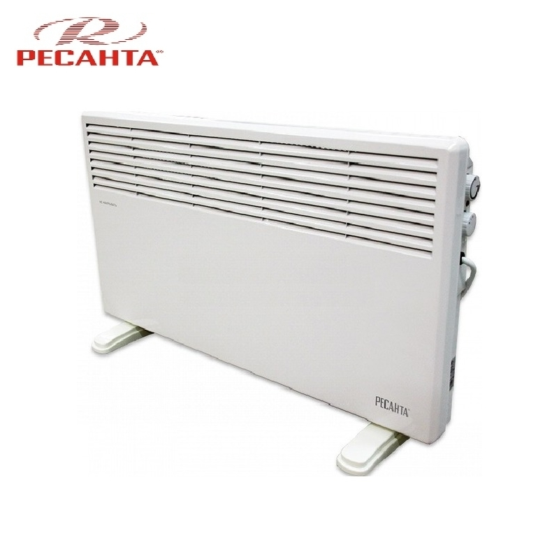 Convector RESANTA OK-2000CN Heating device Electroconvector Forced convection heater Wall-hung convector Mechanical converter convector resanta ok 1000