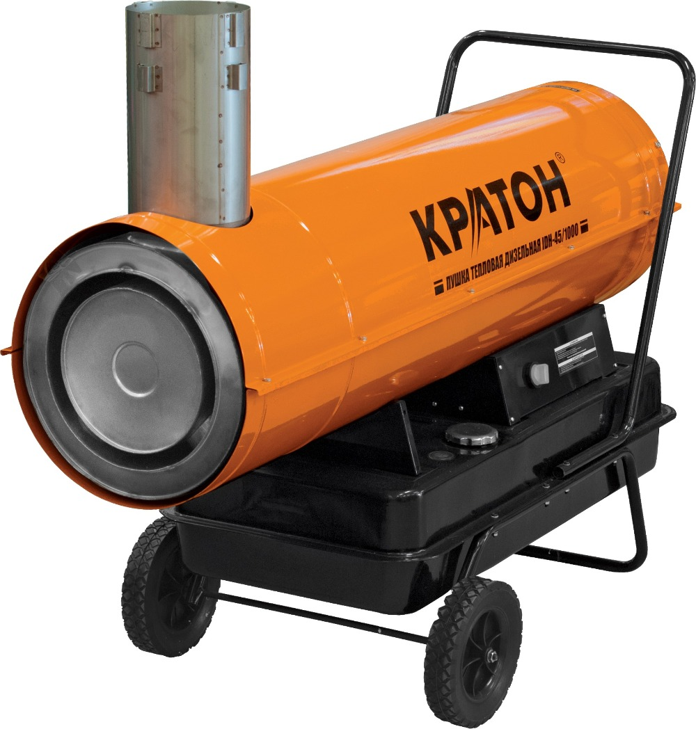 Heat gun diesel KRATON IDH-45/1000 цена и фото