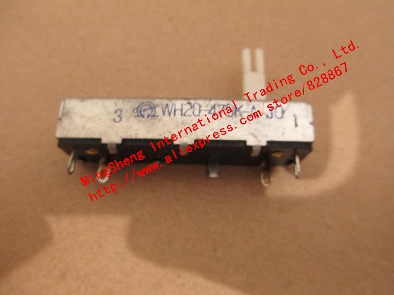 New Original 100% WH20-1-0.125W 4.7K 10K 47K 100K 220K 470K Potentiometer Fader (SWITCH)