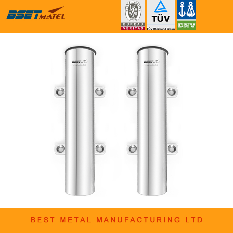 2 Pieces stainless steel 316 fishing rod holder fishing racks for fishing box marine hardware for kayak boat yacht
