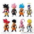 Dragon Ball Z DBZ ADVERGE SP2 Black Goku Rose Gohan Frieza Majin Buu Gotenks SS4 ПВХ Фигурки игрушки фигурные куклы - фото