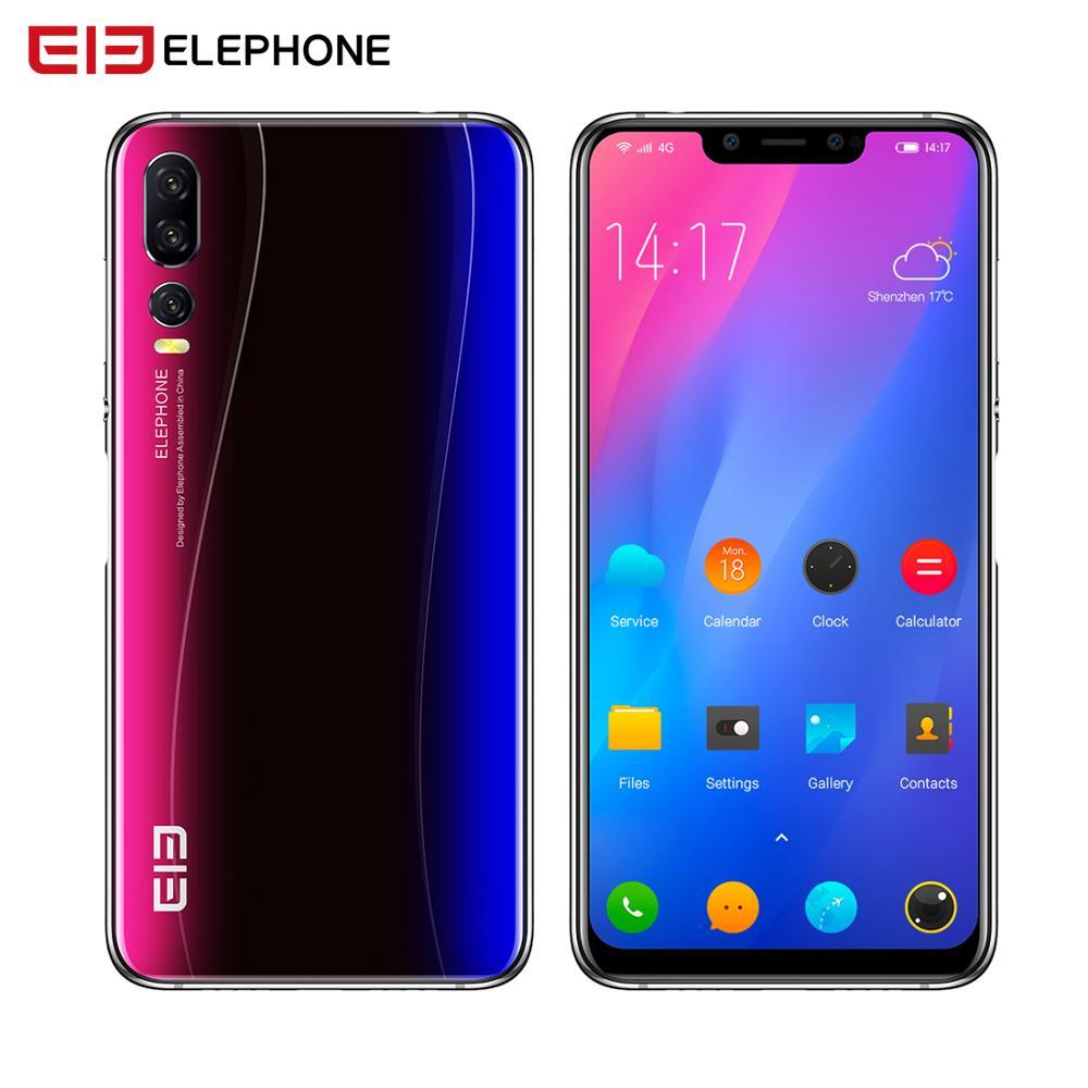 Elephone A5 6 GB 128 GB SmartPhone Android 8.1 MTK6771 Octa Core 6.18 pouces FHD + u-cran écran 20MP caméra 4000 mah 4G téléphone portable - 2
