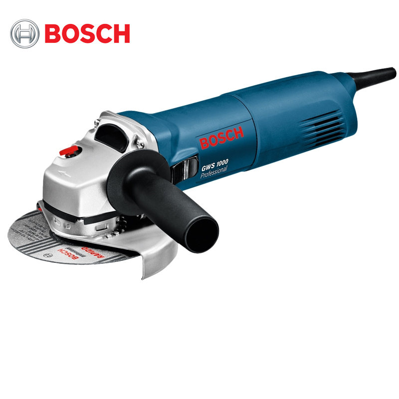 Фото - Angle grinder Bosch GWS1000 alloy adjustable angle grinder wrench