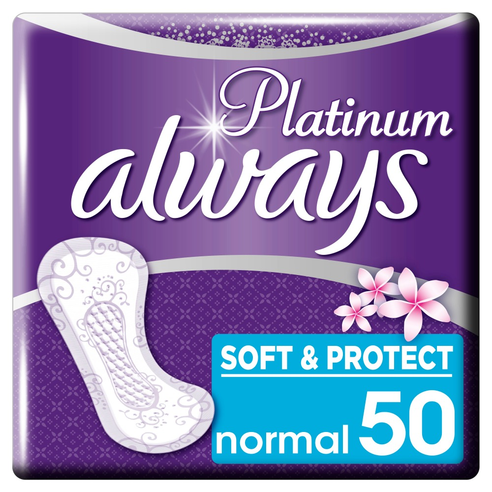 ALWAYS Women's sanitary pads for every day Platinum Collection Deo Normal 50pcs 50pcs ld7531amgl ld7531 sot23 6