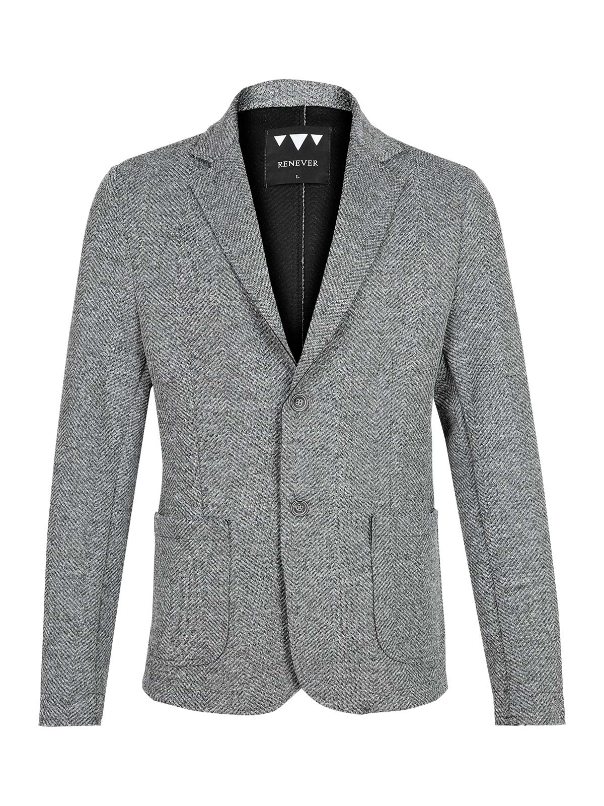 Jacket Blazer Casual Gray
