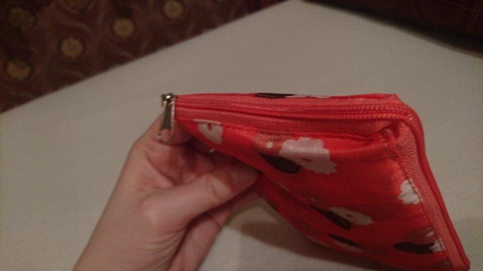 eTya Fashion Eco friendly Folding High Quality Shopping Bag Women's Handbags Waterproof  Foldable Reusable Household Tote Bags photo review