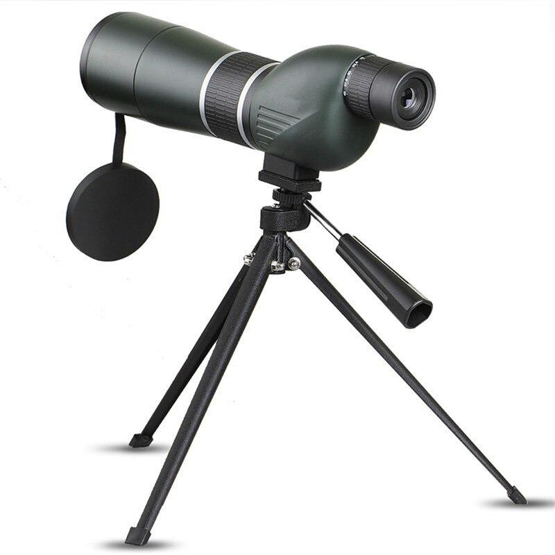 Haute Qualité 15-45x60 HD Monoculaire Optique Zoom Len Oculaire Télescope pour L'observation Des Oiseaux Spotting Randonnée Visualisation avec Cas Trépied