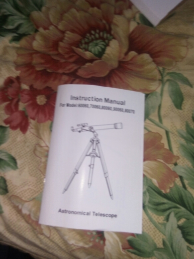 Telescópio e binóculos Portátil Espaço Mancha