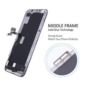 Image 5 - Elekworld TFT OLED для iPhone X XS XR XS MAX ЖК дисплей с 3D сенсорным экраном дигитайзер в сборе с подарками