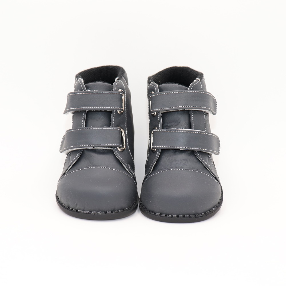 TipsieToes Brand High Quality Leather Stitching Kids Children Soft Boots School Shoes For Boys 2019 Autumn Winter Snow Fashion
