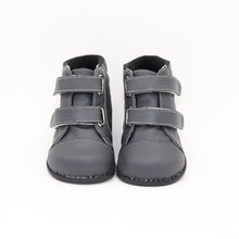 TipsieToes Brand High Quality Leather Stitching Kids Children Soft Boots School