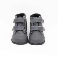 TipsieToes Brand High Quality Leather Stitching Kids Children Soft Boots School Shoes For Boys 2018 Autumn Winter snow Fashion(China)