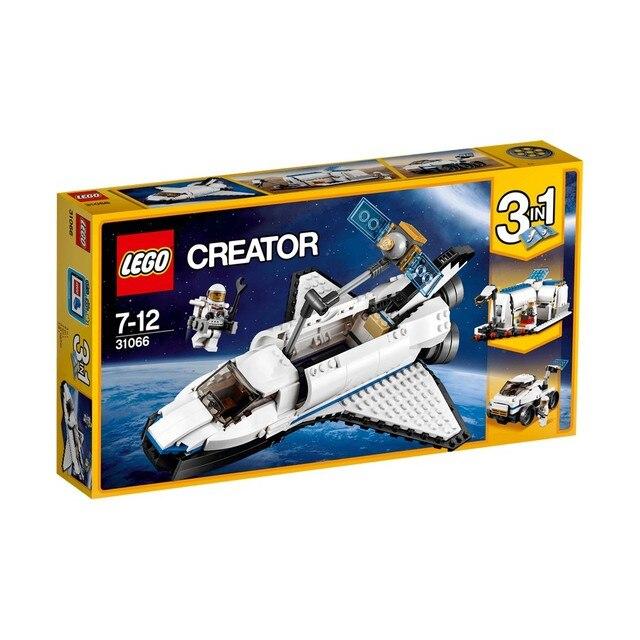Конструктор LEGO CREATOR Исследовательский космический шаттл 31066-L