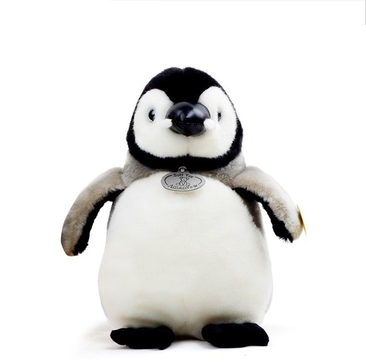 цена Plush Penguin Dolls Soft and Stuffed Animal Toys Christmas Gift for Kids Toy