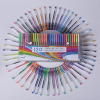 120PCS 100PCS Color Gel Pens Cute Pen Metallic Pastel Neon Glitter Sketch Drawing Color Pen School