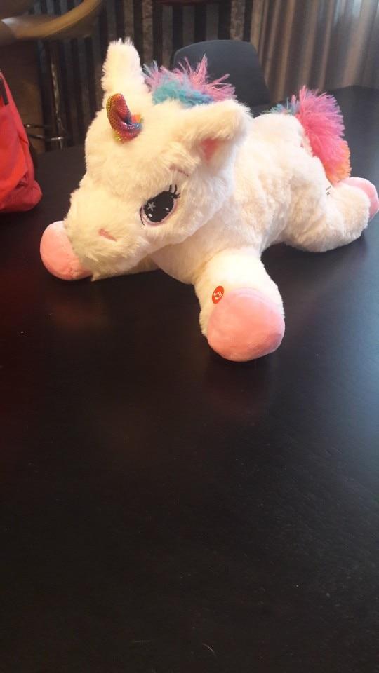 40cm LED Light Unicorn Toys photo review