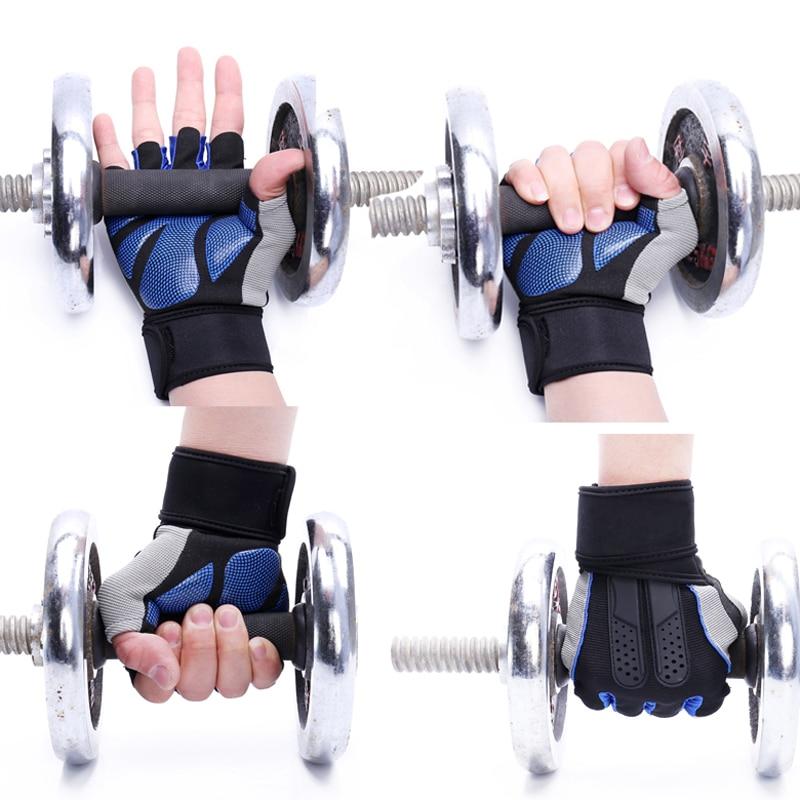 Рукавички спортивні з високоякісним - Фітнес та бодібілдинг - фото 5