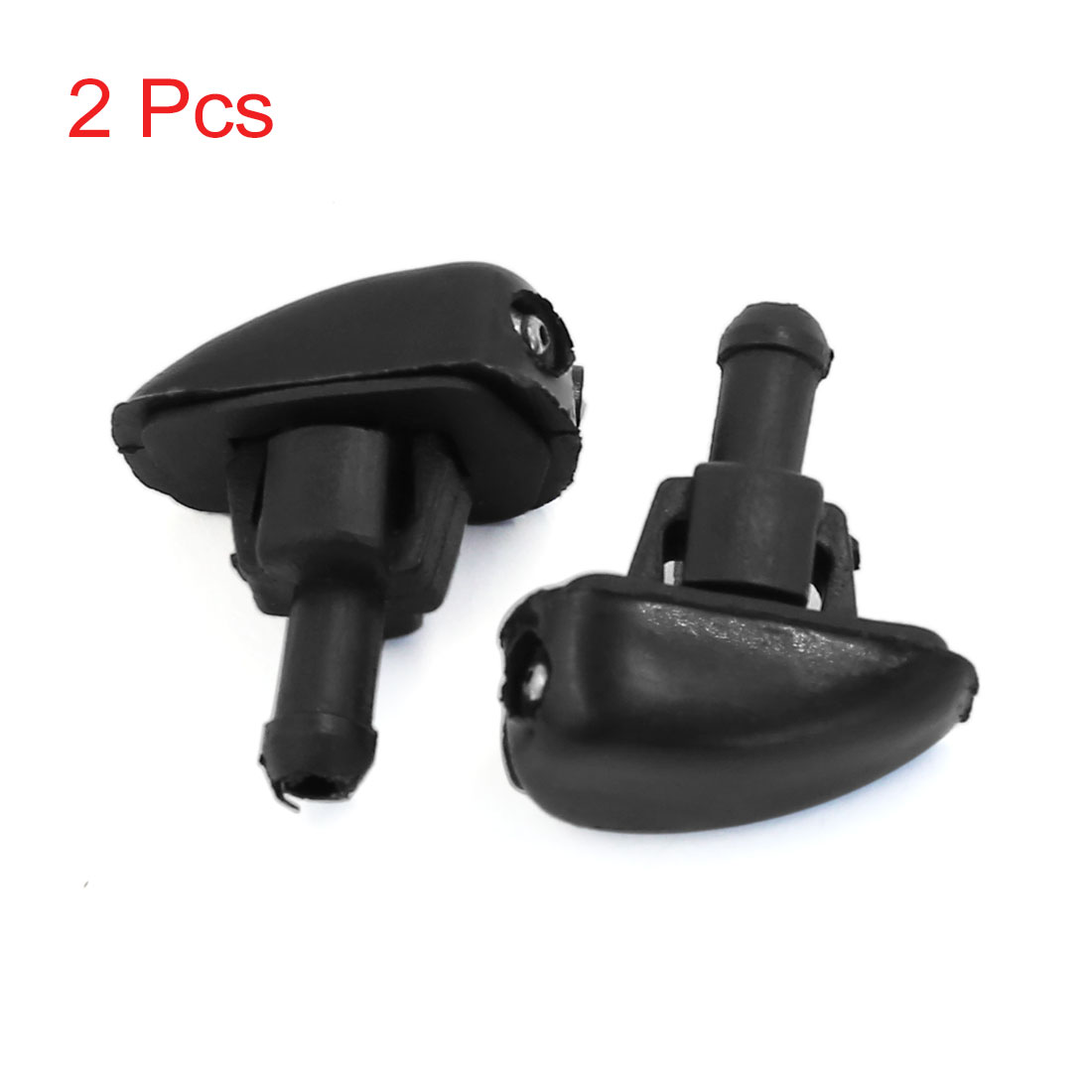 X Autohaux 2Pcs Car Windshield Windscreen Glass Cleaning Water Spray Injector Washer Nozzle