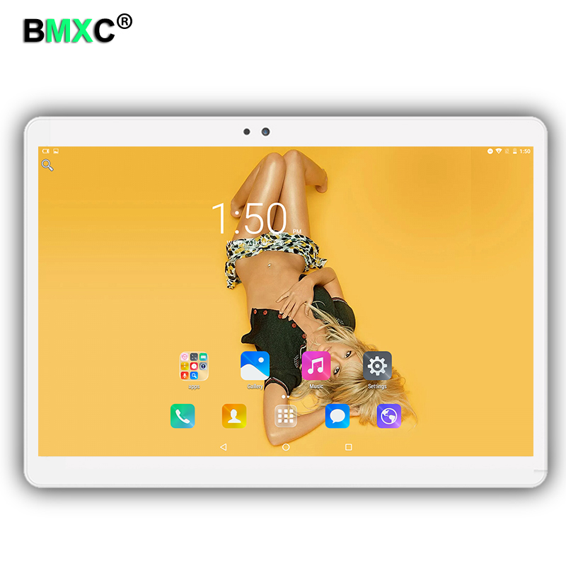 Free shipping Ultra Slim Design 10.1 inch 3G 4G Lte Tablet PC 10 Core 4GB RAM 64GB ROM Dual SIM Card Android 6.0 IPS tablets pcs free shipping support vpn f3846 lte dual sim 4g router for atm kiosk
