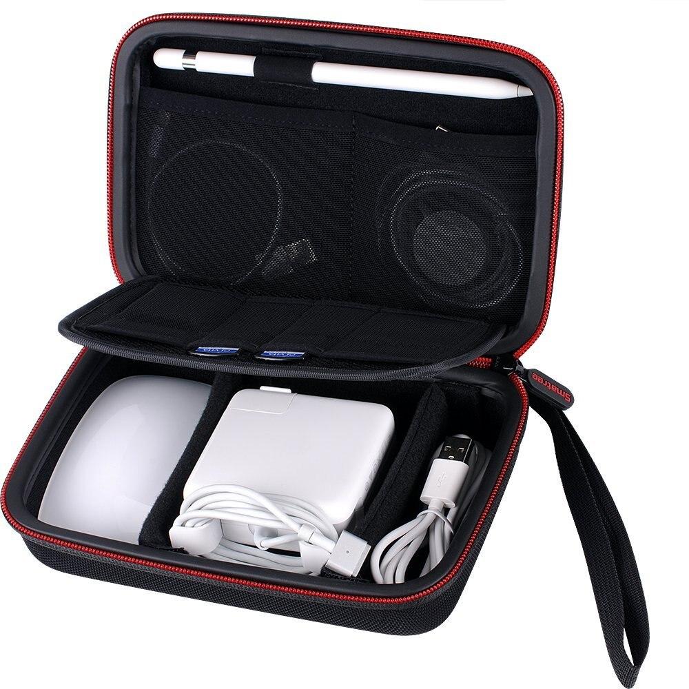 Smatree caso duro A90 para Apple lápiz, Magic Mouse, MagSafe Adaptadores de corriente, cable de carga magnético